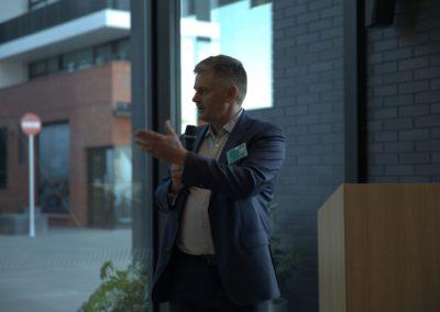 Mark Ennis at the SPTW Awards Nov 2018