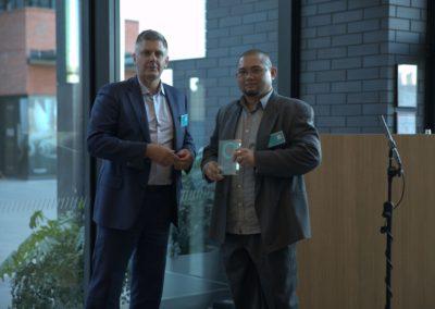 Mark Ennis & Safe365 Award winner