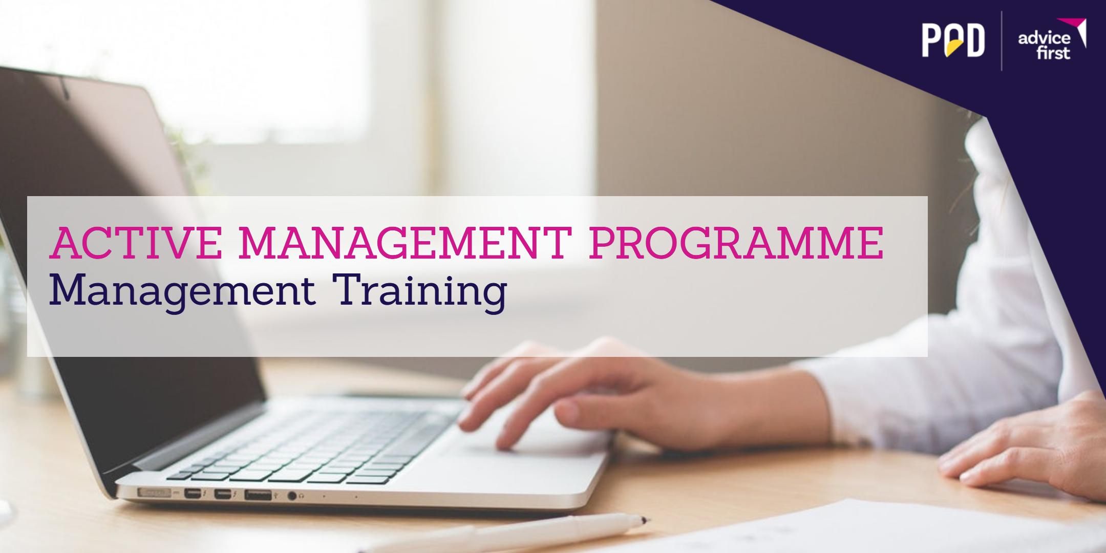 Active Management Programme – Management Training
