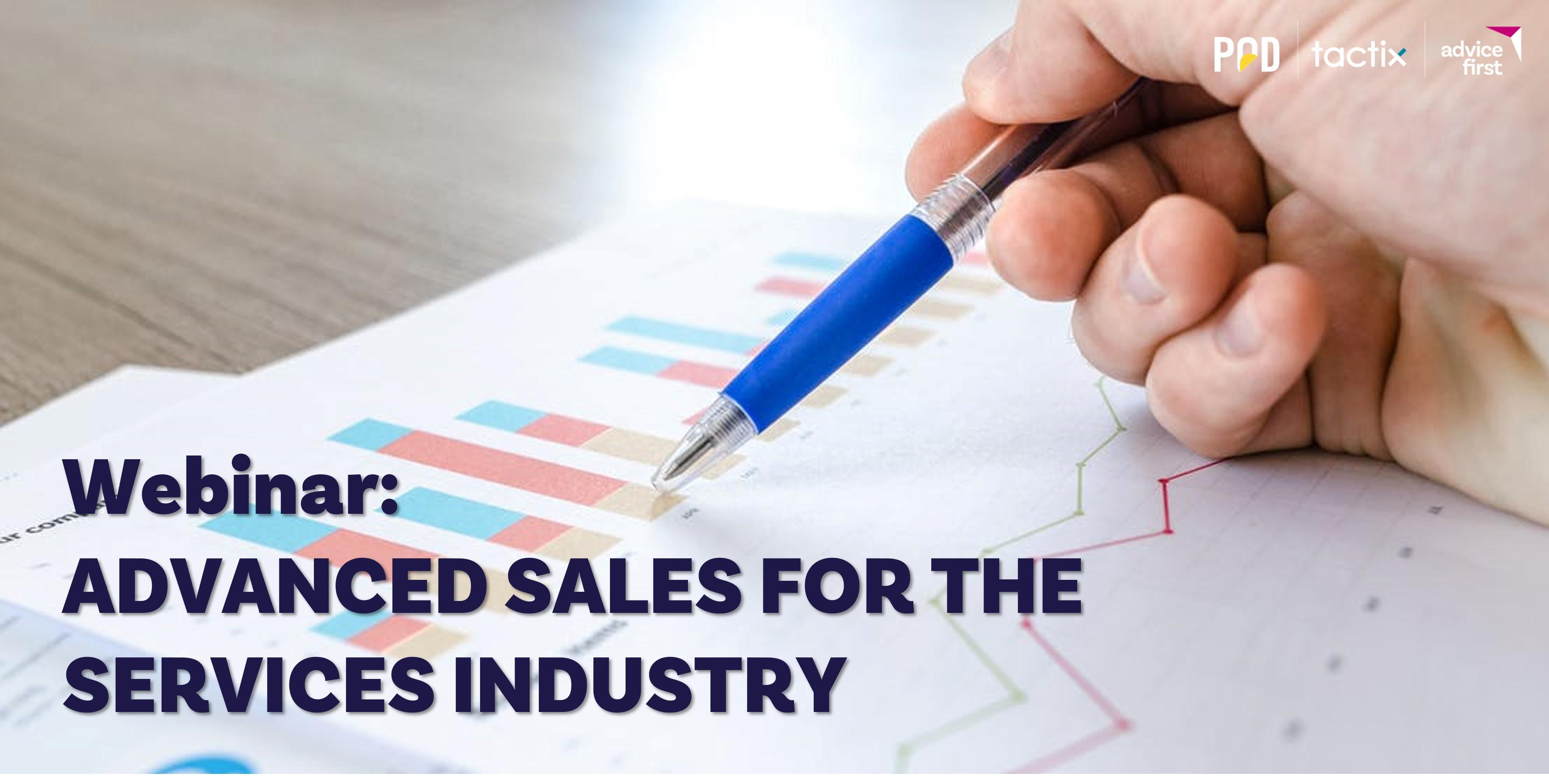 Webinar: Advanced Sales For The Services Industry